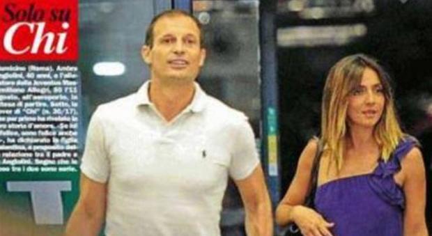 """Max Allegri e Ambra beccati di nuovo insieme a Fiumicino. """"Nuova fuga d'amore"""""""