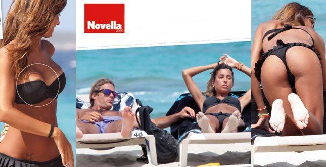 Federica Nargi e Alessandro Matri, ultimi giorni di vacanza a Formentera
