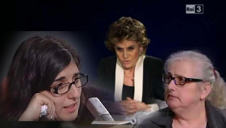 Franca Leosini, Storie Maledette e la rabbia della mamma di Sarah Scazzi: