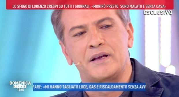 Lorenzo Crespi a Domenica Live: