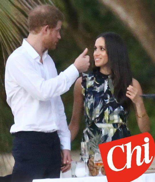 Matrimonio Harry E Megan : Harry e meghan ecco le foto della loro quot luna di miele