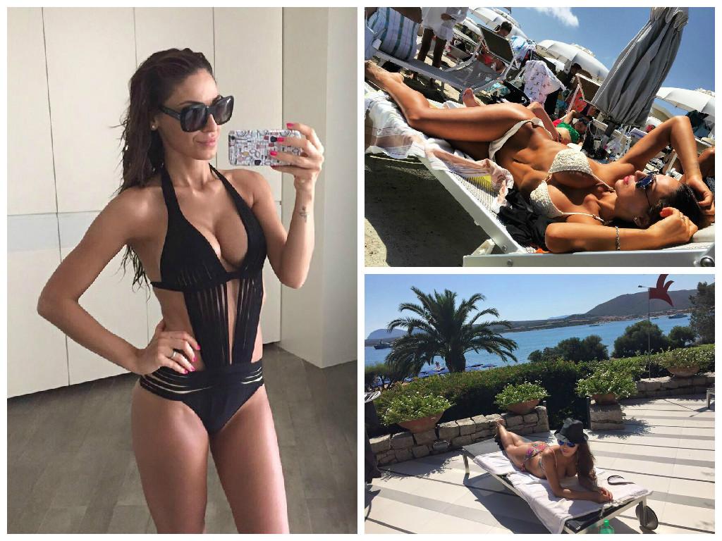 Anna Tatangelo, il buongiorno h. ot su Instagram: il dé. colle. té è esplosivo