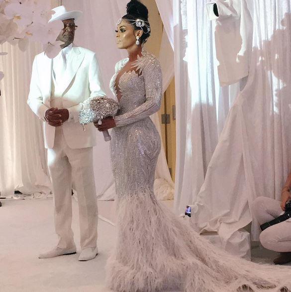Gucci Mane e Keyshia Ka'oir, nozze da 2 milioni di dollari: diamanti anche sulla cravatta e torta alta 3 metri