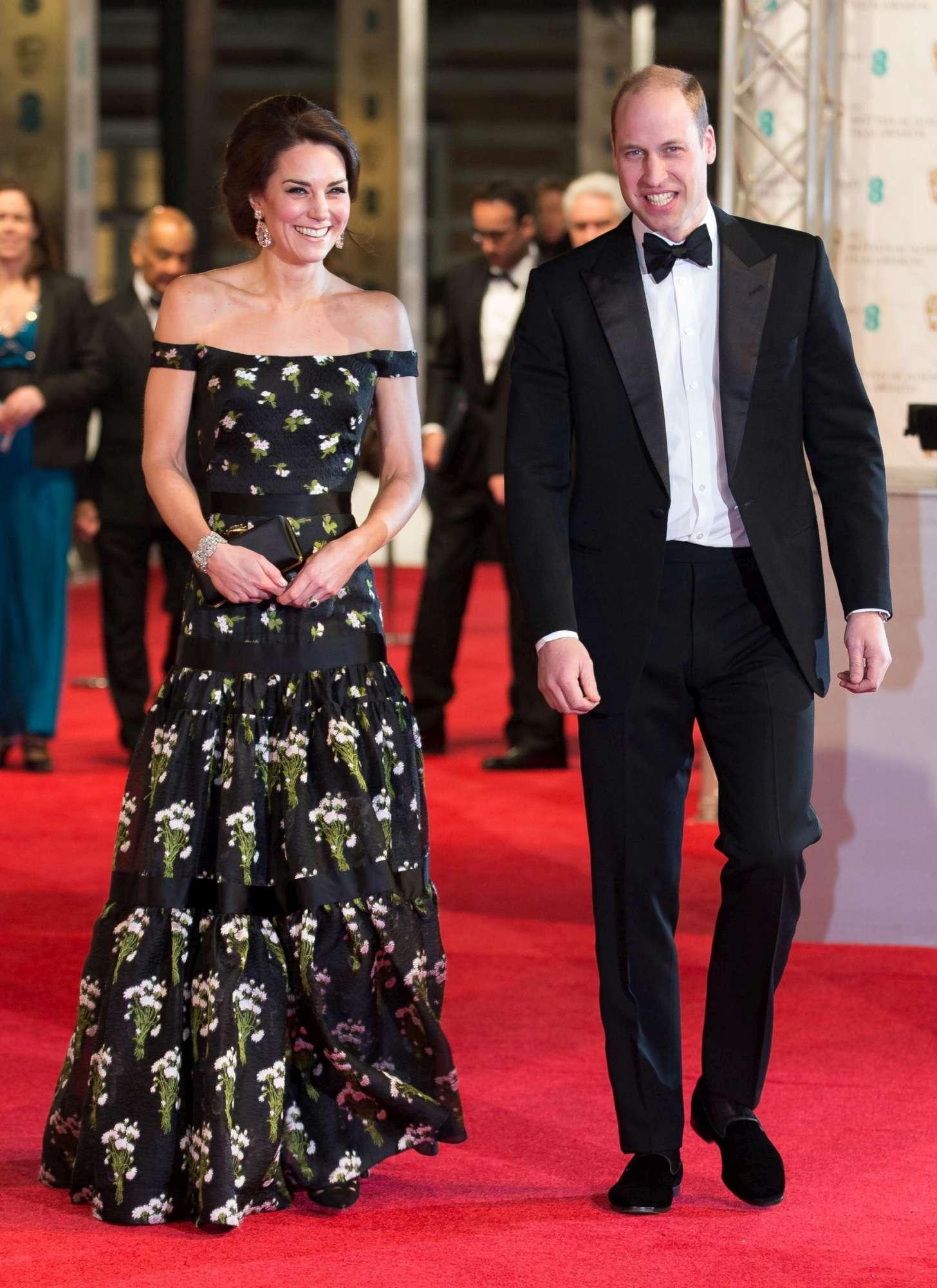Kate Middleton fa infuriare le dive di Hollywood ai Bafta