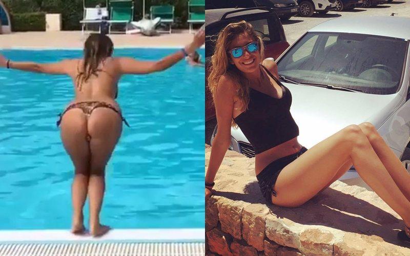Valentina, la se. xy figlia di Max Allegri, spopola su Instagram, tra foto in bi. kini e il ballo della scimmia