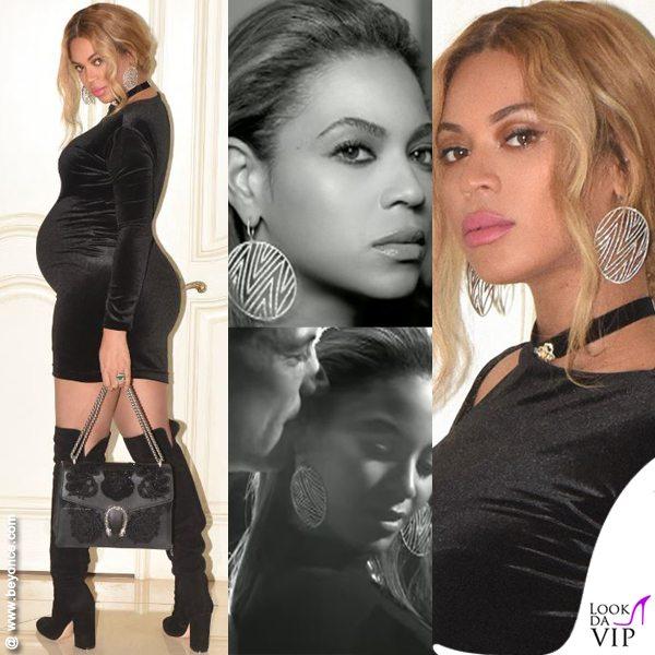 Beyoncé, il se. sso dei gemelli è negli orecchini?