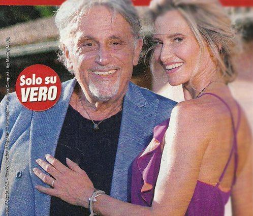 """Andrea Roncato sposo a 70 anni: """"Matrimonio con Nicole. Non chiamatemi vecchio!"""""""