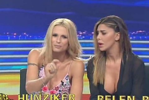 Michelle Hunziker e Belen, non corre buon sangue: