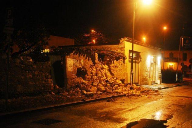 Terremoto, vice sindaco Acquasanta bloccato da una frana: