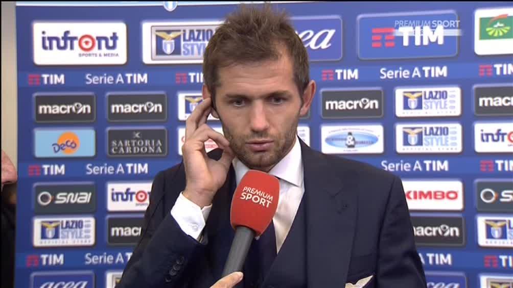 Lazio-Roma, Lulic choc: