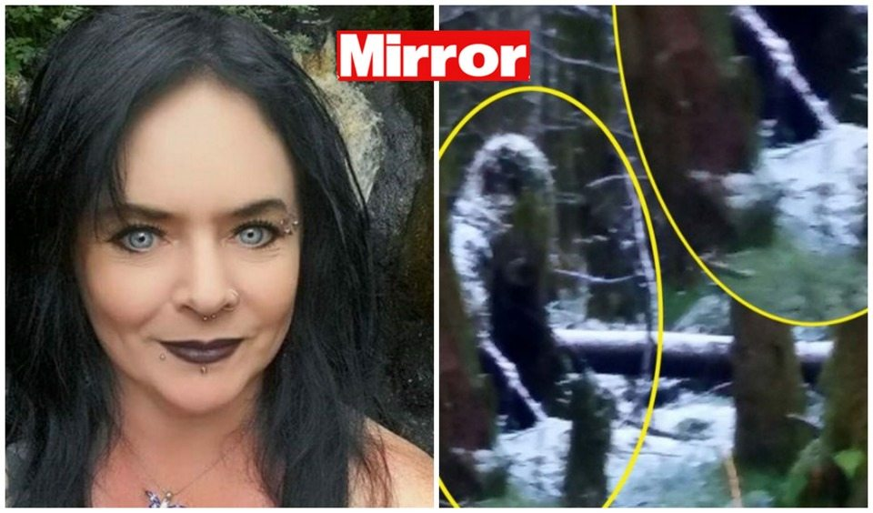 Mamma passeggia nel bosco e vede un fantasma. Gli amici: