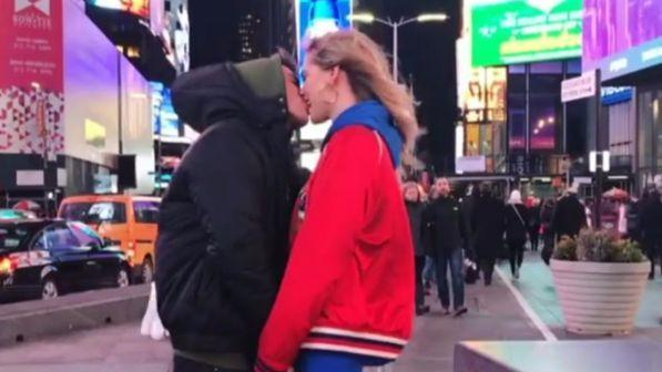 Chiara Ferragni-Fedez, ultimo bacio a New York