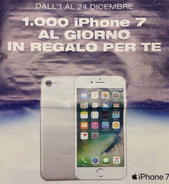 Esselunga regala mille iPhone 7 al giorno: Da domani al 24 dicembre