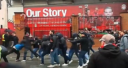 Scontri di Liverpool, la Roma rischia sanzioni