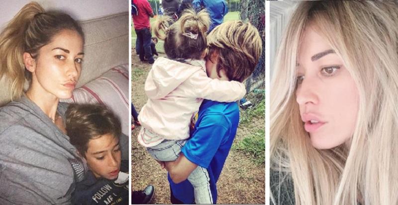 Elena Santarelli racconta la malattia del figlio: