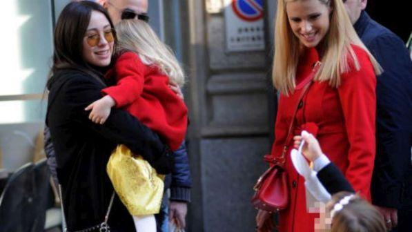 Michelle Hunziker, Celeste Trussardi compie 3 anni, le foto della festa con mamma e la sorella Aurora