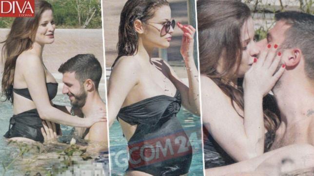 Giulia Elettra Gorietti mamma in estate, le foto esclusive con il pancione