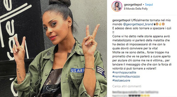 Georgette Polizzi choc: «Dovrò vivere sulla sedia a rotelle, la malattia si è impossessata di me»
