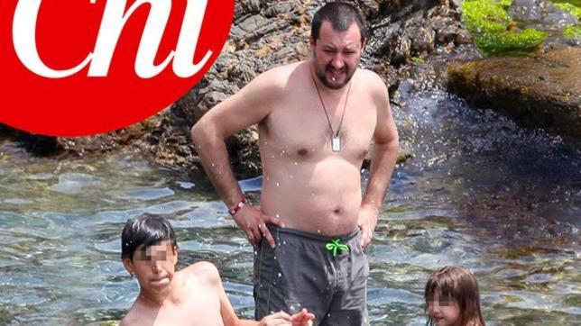 Matteo Salvini ed Elisa Isoardi, nessuna crisi... vanno a vivere insieme