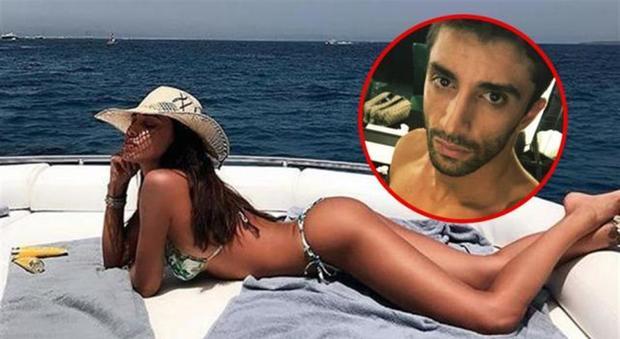 Belen Rodriguez e la foto bollente: la reazione al commento piccante di Andrea Iannone