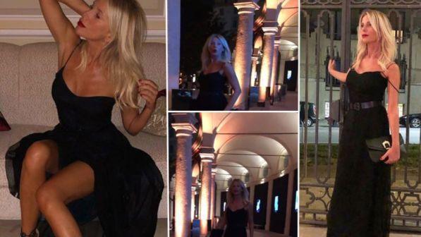 Alessia Marcuzzi diventa milanese tra feste e reality
