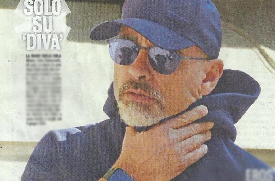 Eros Ramazzotti supera la paura, eccolo dopo l'operazione alle corde vocali con Marica Pellegrinelli e i figli