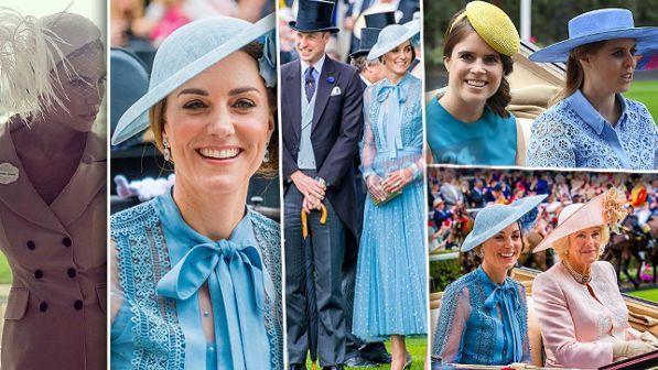 """Kate Middleton se la ride con le """"cugine"""" al Royal Ascot. E c?è anche la Galanti"""