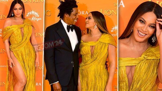 Beyoncé, stacco di coscia