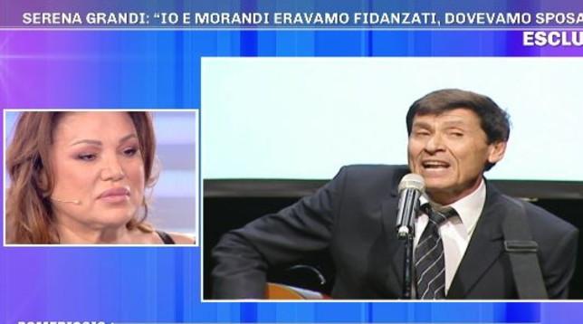 Barbara D'Urso, Serena Grandi rivela a Pomeriggio 5: «Gianni Morandi mi ha lasciata. Siamo stati insieme...»