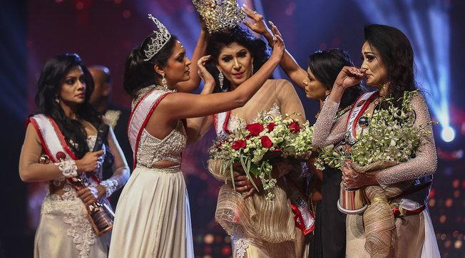 Mrs Mondo arrestata dopo aver aggredito Miss Sri Lanka