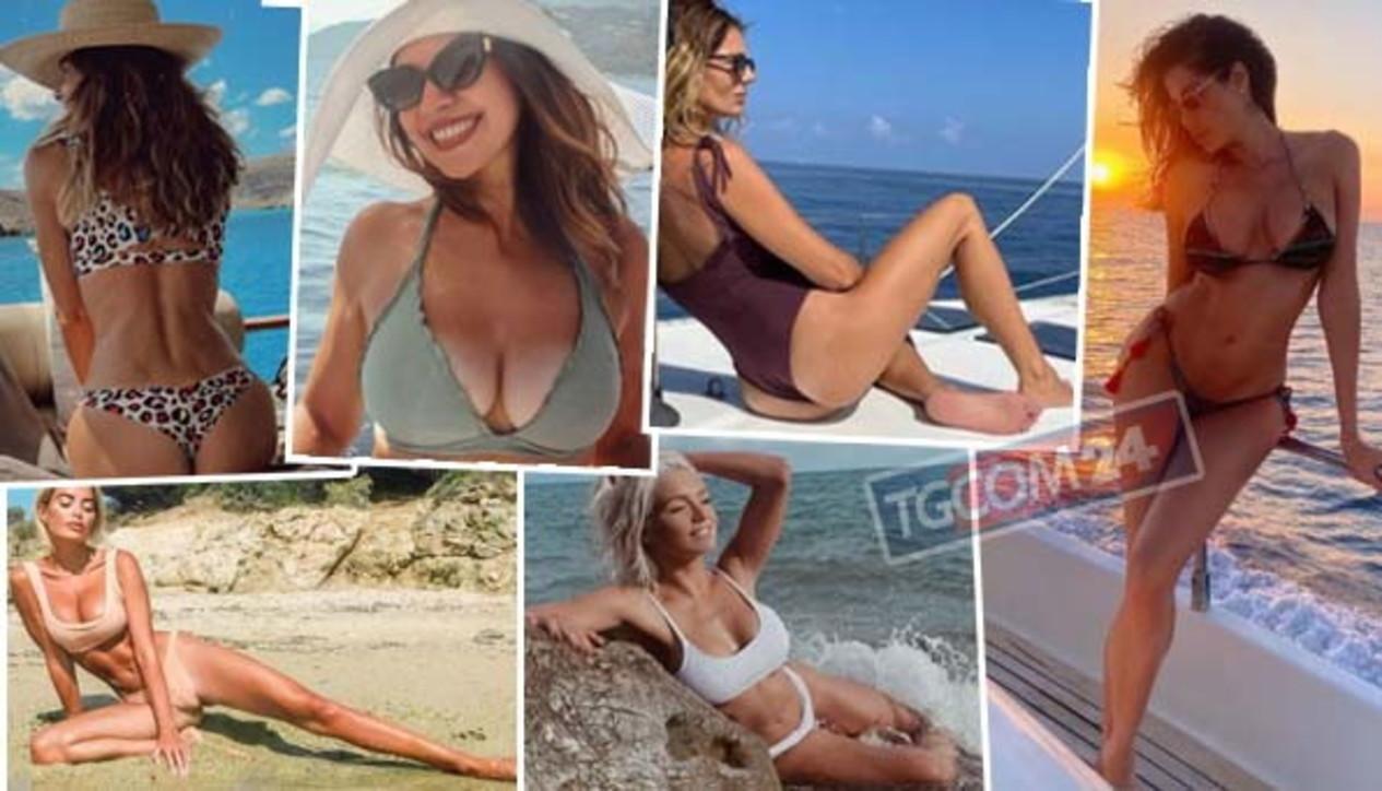 Arrivederci estate, gli ultimi bikini delle vip