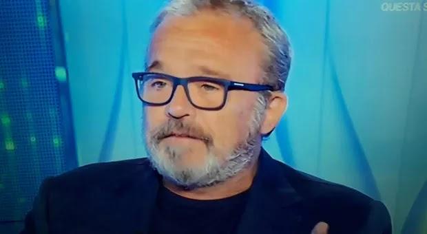 Claudio Amendola scoppia in lacrime a Verissimo: «Mia moglie Francesca ha una malattia, un dolore fisico enorme»