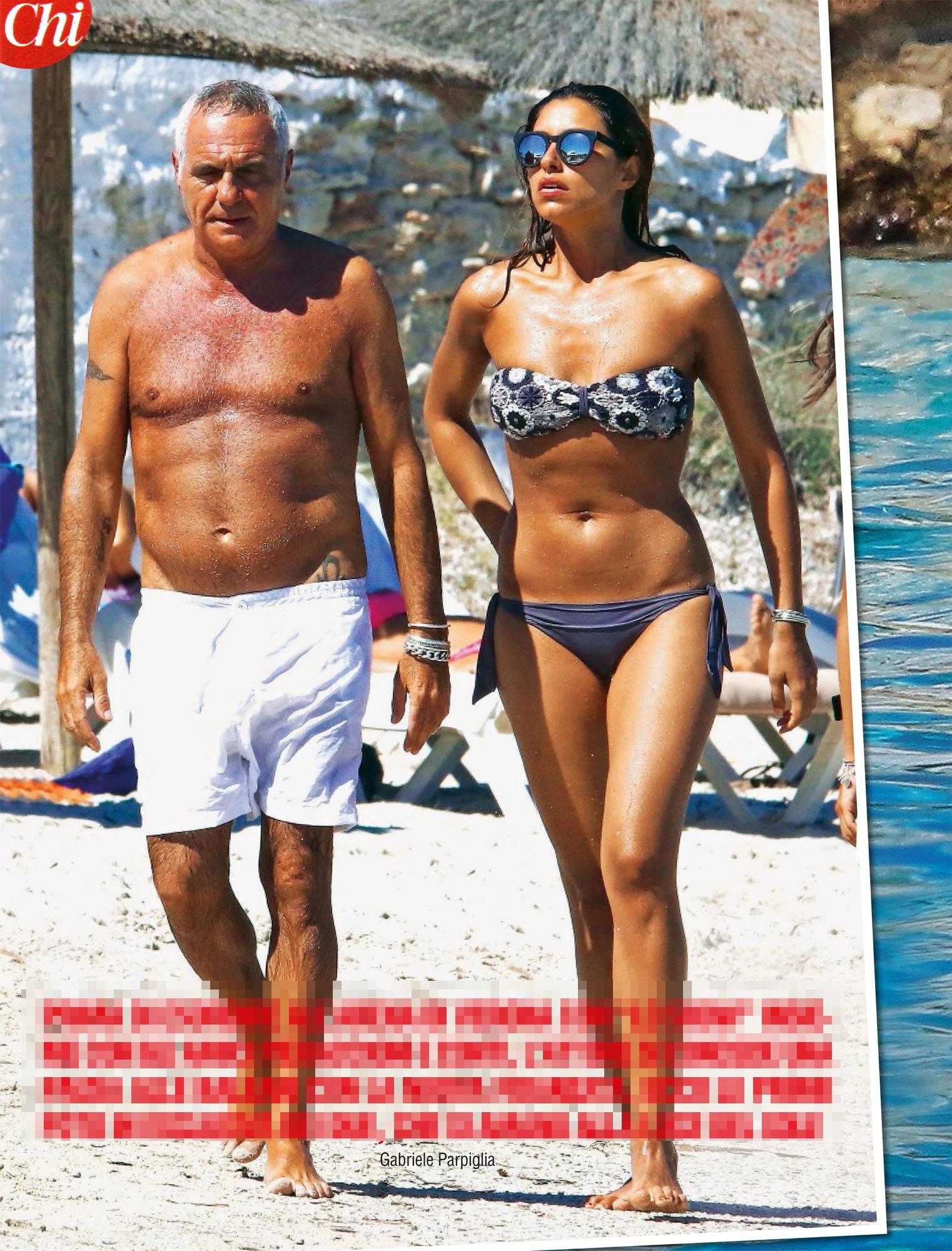 Giorgio Panariello,a Formentera con la nuova fiamma Claudia Maria Cappellini