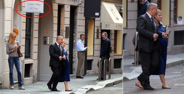 Barbara Berlusconi (incintissima) e quei regali di lusso per papà Silvio… e il suo Dudù