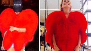 Barbara d'Urso perde la testa per il cuore YSL