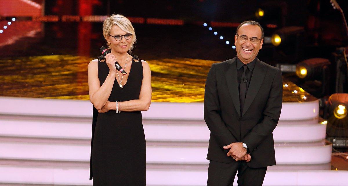 Sanremo 2017, Maria De Filippi vicina alla conduzione con Carlo Conti