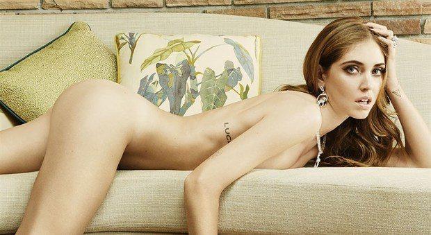 """Chiara Ferragni nu.da su Vanity Fair: """"Fedez? Mi ha conquistato con un """"limoniamo"""""""""""