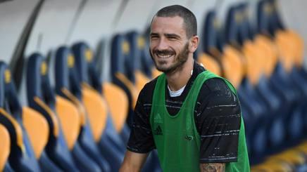 """Bonucci: """"Mio figlio Matteo sta alla grande"""" e tutto lo stadio applaude il piccolo"""