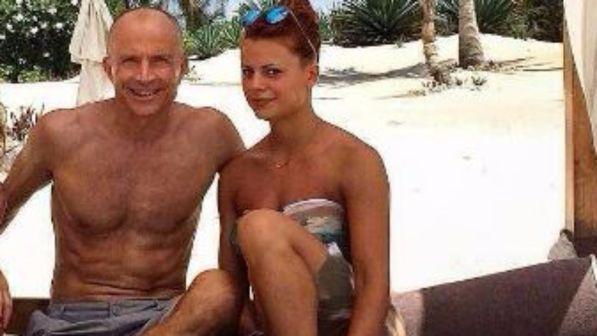 Natalia e Giorgio Mastrota in vacanza insieme