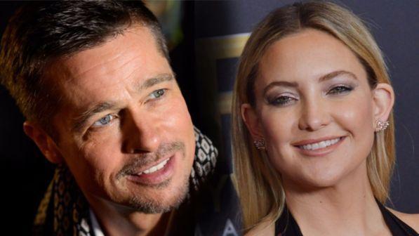 Brad Pitt e Kate Hudson nuova coppia dello showbiz