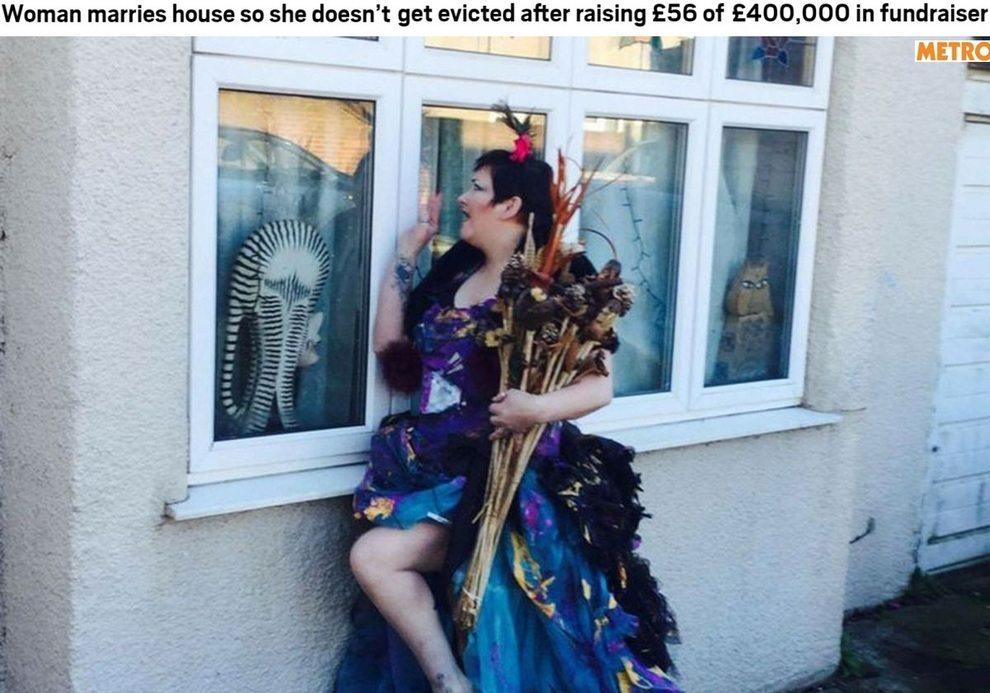 Non ha i soldi per comprare la sua casa, decide di sposarla