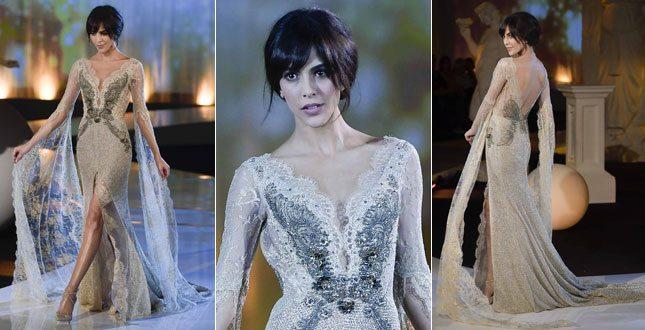 Rocio Munoz Morales è pronta per il matrimonio con Raoul Bova: guarda com'è se. xy in abito da sposa
