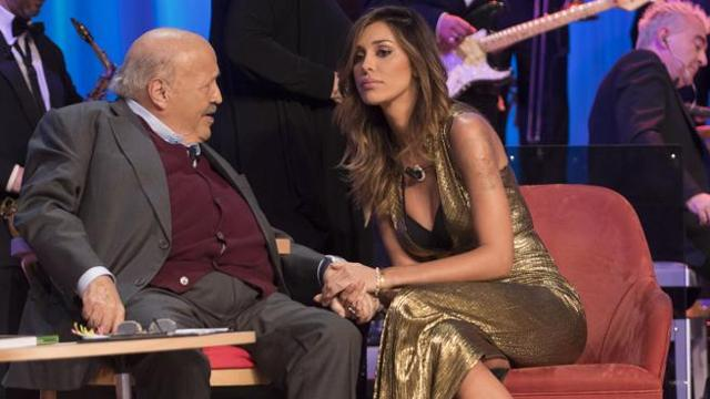 Belen e la lite con Costanzo in tv: