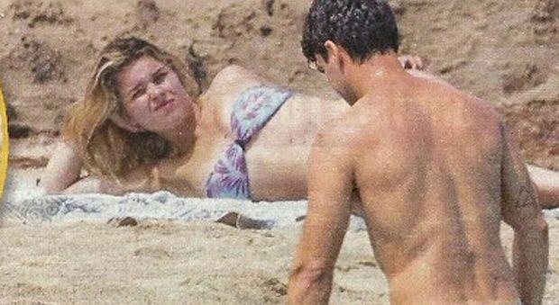 Kledi Kadiu e Charlotte Lazzari, mini luna di miele a Ibiza senza la figlia