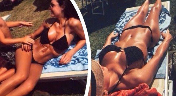 Anna Tatangelo in bikini super sexy conquista su Instagram 26 mila like