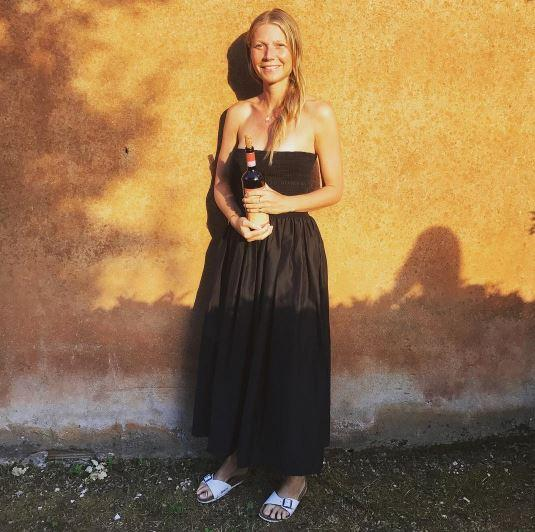Gwyneth Paltrow, guarda le sue vacanze italiane