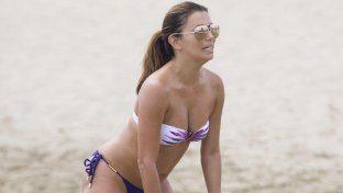 Con Eva Longoria il beach volley diventa...