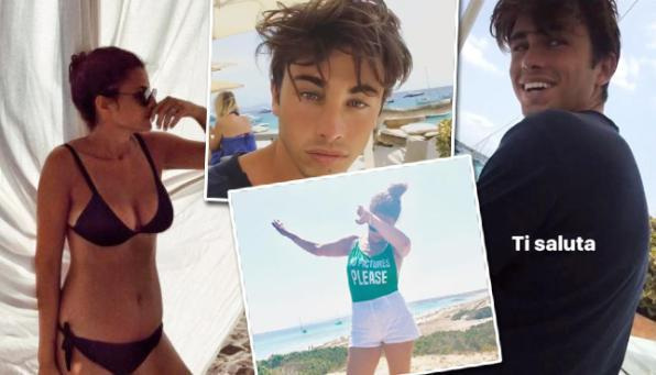 Riki e Sara Daniele in vacanza insieme a Formentera