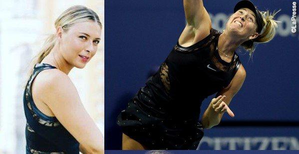 Tisci porta fortuna a Maria Sharapova