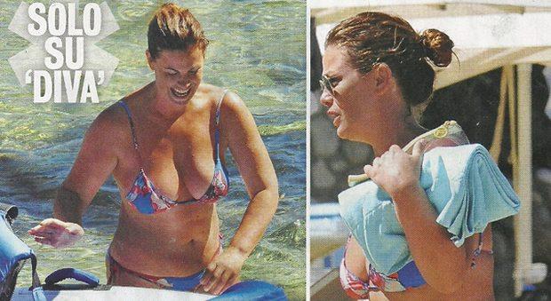 Vanessa Incontrada, bikini generoso al mare